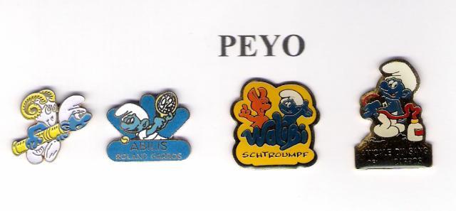 "Série signée ""PEYO"""