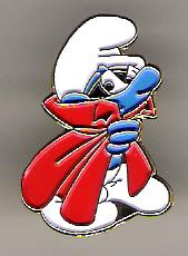 Schtroumpf cape rouge
