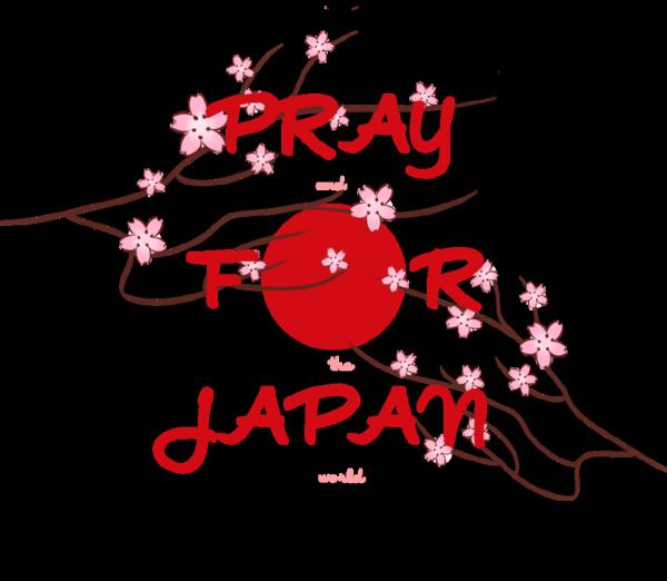 PRAY FOR JAPAN♥