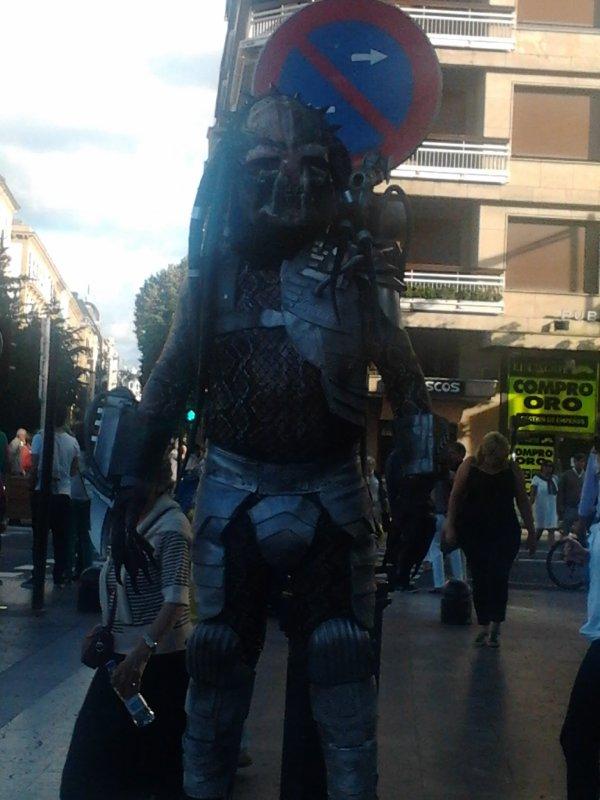 cosplay predator à San sebastian