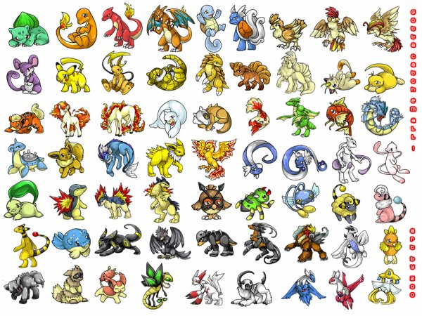 et tout plein de Pokemon !