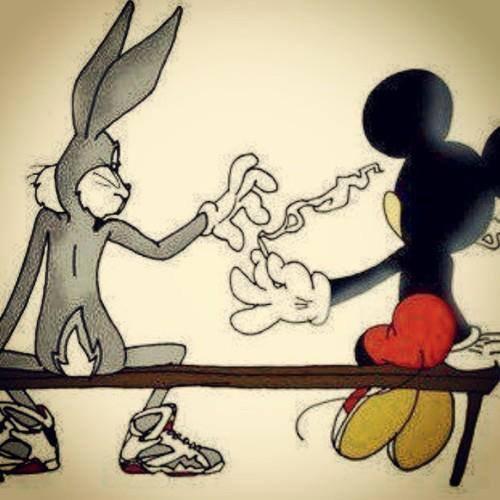 Des Husky !! et la Weed, Sakura et paillettes un monde parfait :)