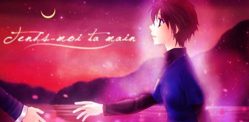 - - - - - - - - - - - - - - - -Tends-moi ta main    que je ne tombe plus jamais  - - - - - - - - - - - - - - - -