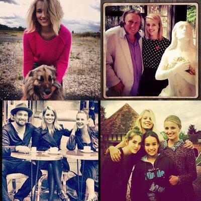 Plusieurs photos de la belle Dianna Agron lors de son séjour à Paris + Des stills de futur épisodes + Une photo de Darren.