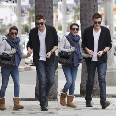 Stills de l'épisode Diva + Léa et Cory en promenade + Darren et Harry au Grammy Awards.