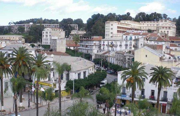 Vue du centre ville d'El-Harrach (Maison-Carrée)