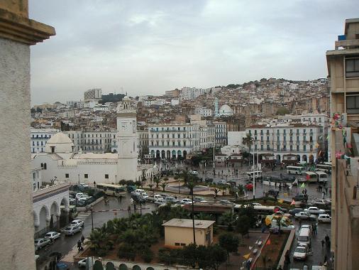 La place des Martyrs ساحة الشهداء بالجزائر العاصمة
