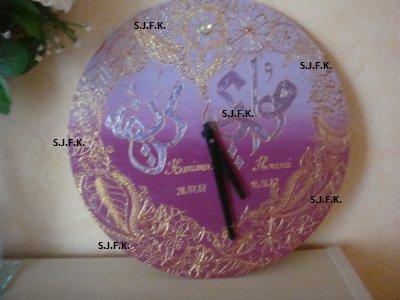 """Horloge orientale 'Karima w Houari"""""""