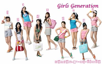 Concoure Girl's Generation