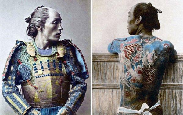 Le monde des Samuraïs ma toujour fasciner.