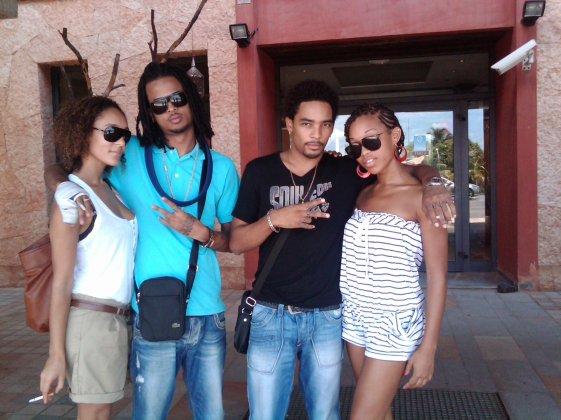 Soumia  Kalash T-jy et Lilah a RFO GUYANE