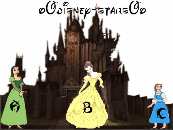 Dans que tenu préfére tu Belle ?