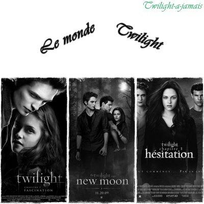 Twilight: Les détails de la saga.