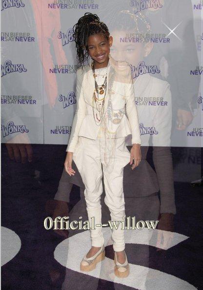Ta Première Source sur la Talentueuse Willow Smith