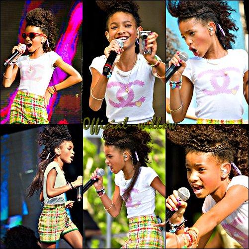 17/04/11   Willow  était à la Maison Blanche,  elle a fait une superbe  performance pour Pâques. Tout simplement belle J'aime bien sa coupe elle était vraiment dedans.