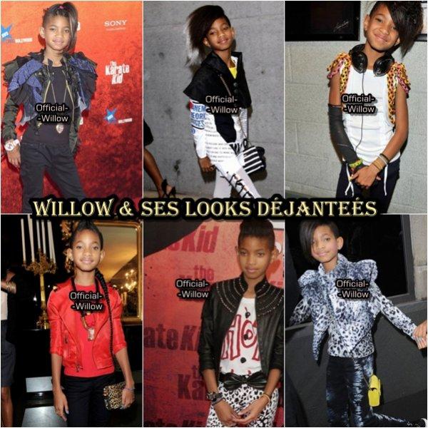 Découvrez les derniers  Looks Déjanteés de  la Dernière du Clan SMiTH  : Willow SmithDonne ton avis laquelle Préfère-tu laquelle désteste-tu ?  !