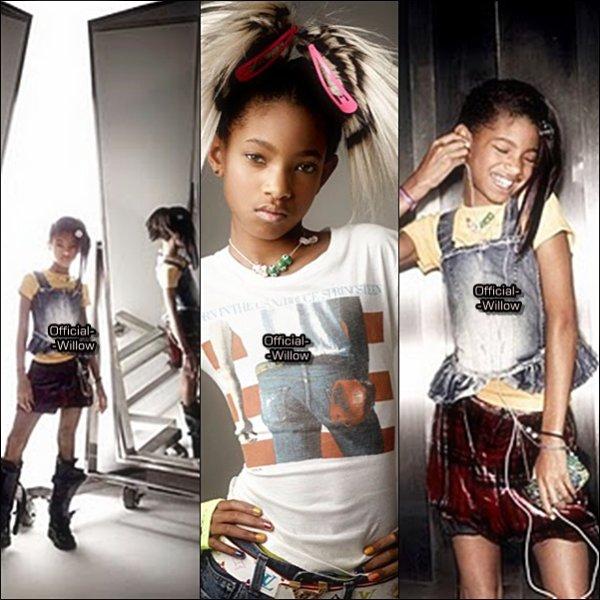 Retour en 2010, Willow  Smith à Posé pour le célèbre Magazine Vanity Fair ! Découvrez ou Redécouvrez ! ;) Vous la trouvez comment J'adore sa coiffure et ses Ongles !