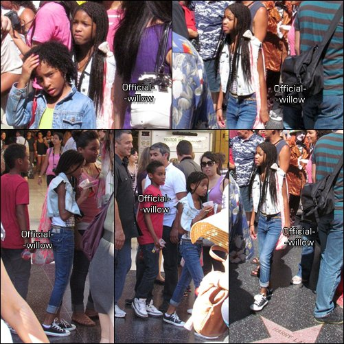 ✖-21/08/11 : Willow se promenait à Hollywood Avec une boisson à la main ! Flashback : J'aime sa veste en jean & ses converses all stars  TOP ou FLOP ?