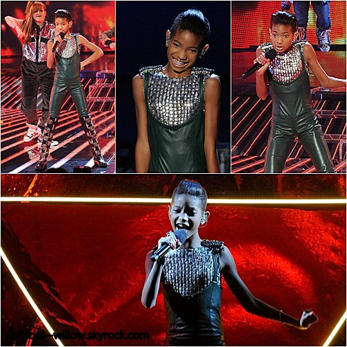 05/ 11 Willow été à X factor pour chanter en live son nouveau tube '' Fireball ''  Willow l été tout simplement magnifique (+) ses habits j'adore sa performance j'ai adoré ♥
