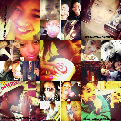 Voici quelques photos personelles de Willow Smith ..!