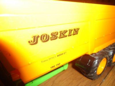 remorque joskin 3 essieux