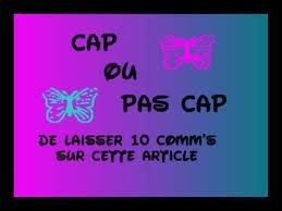 ALORS CAP OU PAS