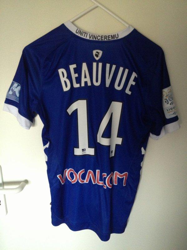 Maillot porté par Beauvue
