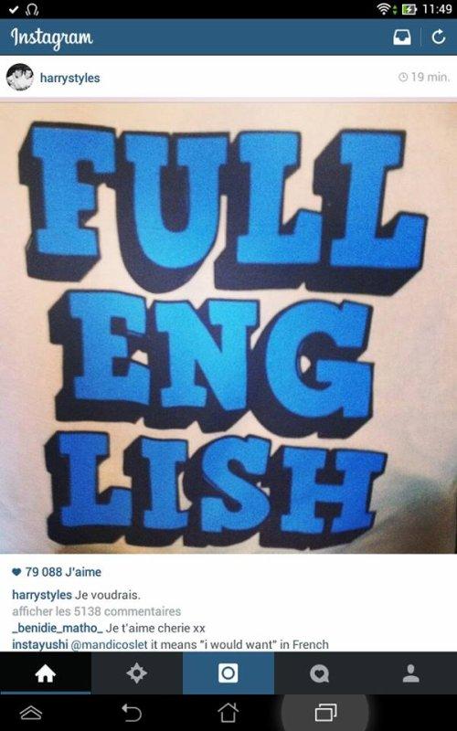 Harry se met au Français