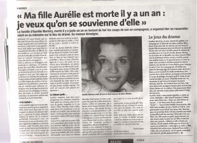 ARTICLE DE JOURNAUX