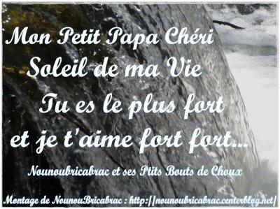 Poeme pour papa la loulou d 39 amour - Poeme de noel pour maman et papa ...