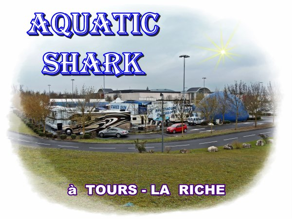 G3685 - AQUATIC SHARK A TOURS-LA RICHE.