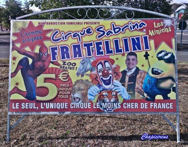 G4006 - CIRQUE SABRINA FRATELLINI