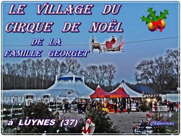 G4065 - VILLAGE DE NOEL DU CIRQUE GEORGET.