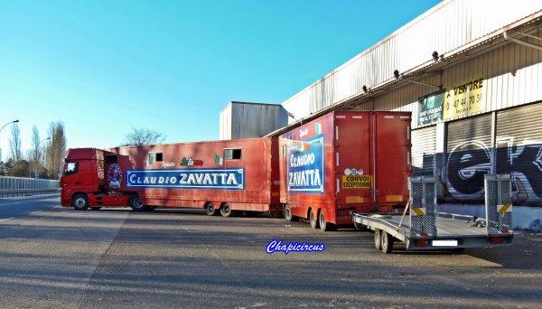 G4113 - CIRQUE CLAUDIO ZAVATTA en quartiers d'hiver.