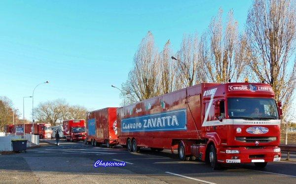 G4114 - CIRQUE CLAUDIO ZAVATTA en quartiers d'hiver.