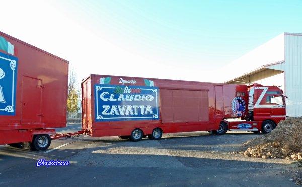 G4115 - CIRQUE CLAUDIO ZAVATTA en quartiers d'hiver.