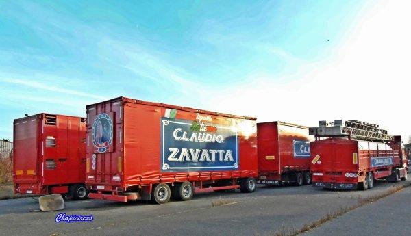 G4126 - CIRQUE CLAUDIO ZAVATTA en quartiers d'hiver.