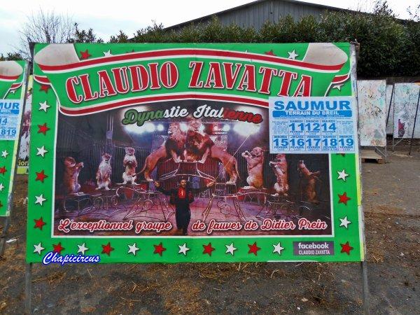 G4178 - CIRQUE CLAUDIO ZAVATTA en quartiers d'hiver.