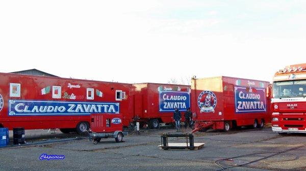 G4185 - CIRQUE CLAUDIO ZAVATTA en quartiers d'hiver.