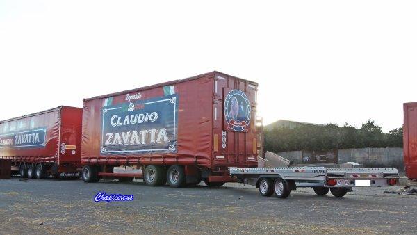 G4203 - CIRQUE CLAUDIO ZAVATTA en quartiers d'hiver.