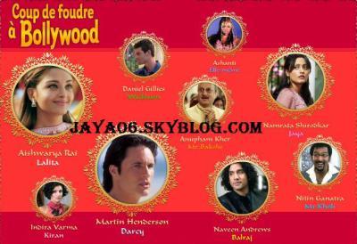 Acteurs et actrices du film coup de foudre a bollywood - Coup de foudre a bolywood ...