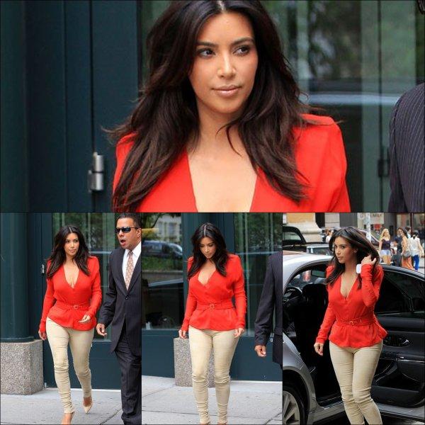 Dimanche 29 juillet: Kim a été aperçue sortant de son hôtel
