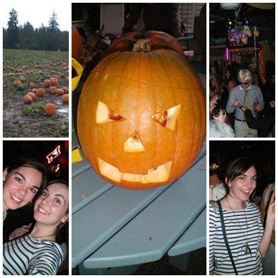 2ème semaine : Halloween!