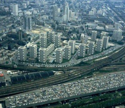 Cité Cambrai Curial 19ièm Arrondissement (Paris 75)