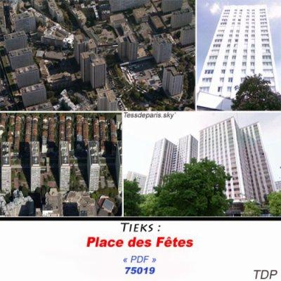 Place des Fêtes (Paris 75)