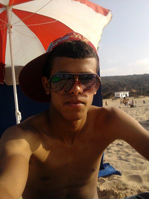 c moi a la plage ^^