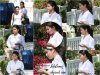 09.07.15 - C'est une très jolie Selena que nous retrouvons aux côtés d'Ashley Cook dans les rues de Los Angeles.    J'aime beaucoup ce genre de candid de Selena. - Côté tenue, c'est un très beau Top pour Sely. Avis ?