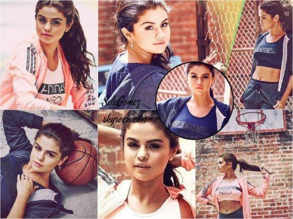 Photoshoot - Découvrez le photoshoot de Selena Gomez pour la nouvelle collection Adidas NEO 2015.