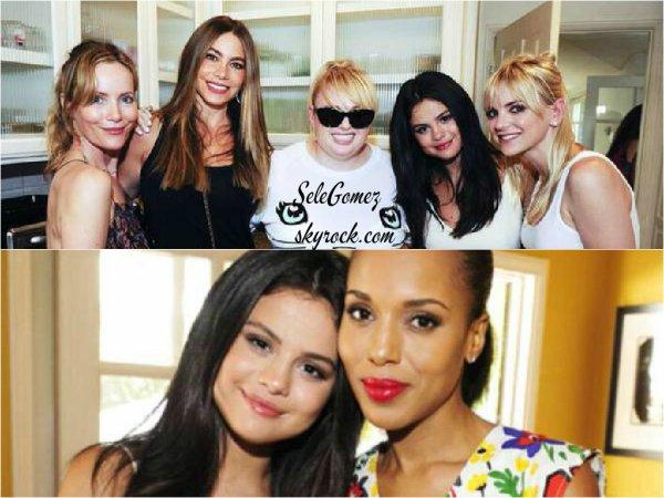 16.08.15 - C'est le jour des Teen Choice Awards que Selena G. s'est rendue a la fête Jennifer Klein's Day Of Indulgence Summer, a Brentwood.   Selon certains fans qui l'ont croisé ce jour-là, S. s'est ensuite rendue aux TCAs 2015. - Cela reste a confirmer..