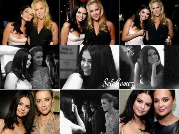 01.11.15 - Ce jour-là, Selena Gomez était présente au 19ème Annual Hollywood Film Awards pour remettre un prix.      Notre très belle Selly a passé la soirée au côté de son amie Amy Schumer. Selon vous, c'est un Top ou un Flop ?